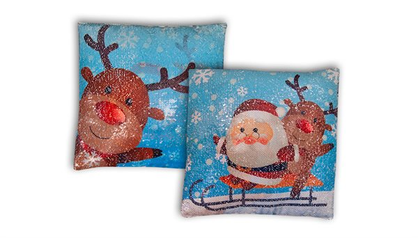 Christmas Mermaid Cushion